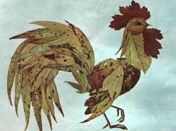 Поделки из природных материалов на тем птиц 78